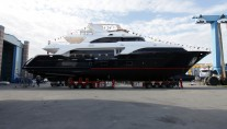 Benetti Classic 121 superyacht at launch